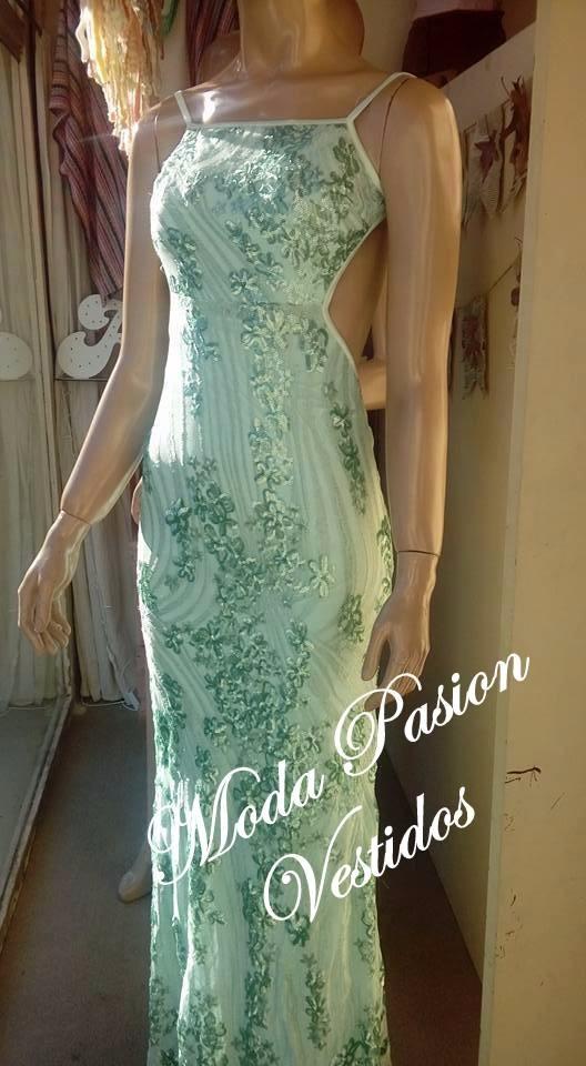 94d69b844 vestido lentejuelas espalda baja descubierta moda pasión. Cargando zoom.