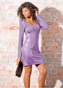 01ed1ffcda Vestidos Longos Dafiti - Vestidos Curtos Femininas Azul violeta no ...