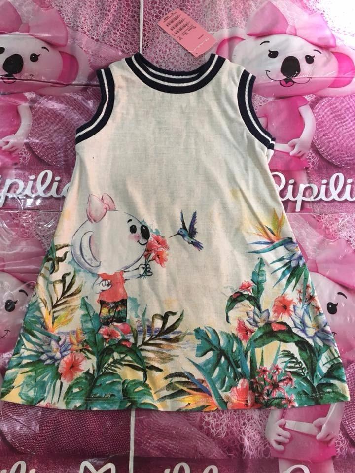 ec3b10f85 Vestido Lilica Ripilica Baby Lançamento - R$ 149,90 em Mercado Livre