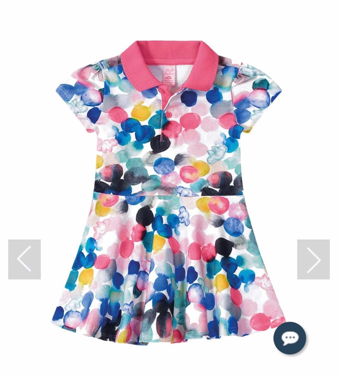e0c8339a8 Vestido Lilica Ripilica Baby Original 10108904 - R$ 119,00 em ...