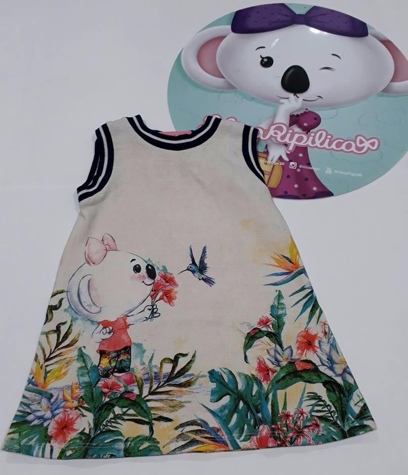 a86b43cac Vestido Lilica Ripilica Baby Original 52079 - R$ 99,00 em Mercado Livre