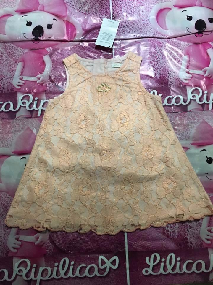0f66e235b Vestido Lilica Ripilica Baby Original Tamanho Mb - R$ 259,90 em ...