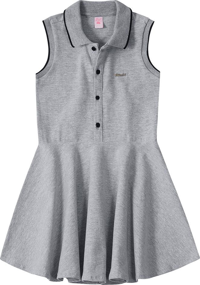 76f23ef2af vestido lilica ripilica cinza - tamanho 6. Carregando zoom.