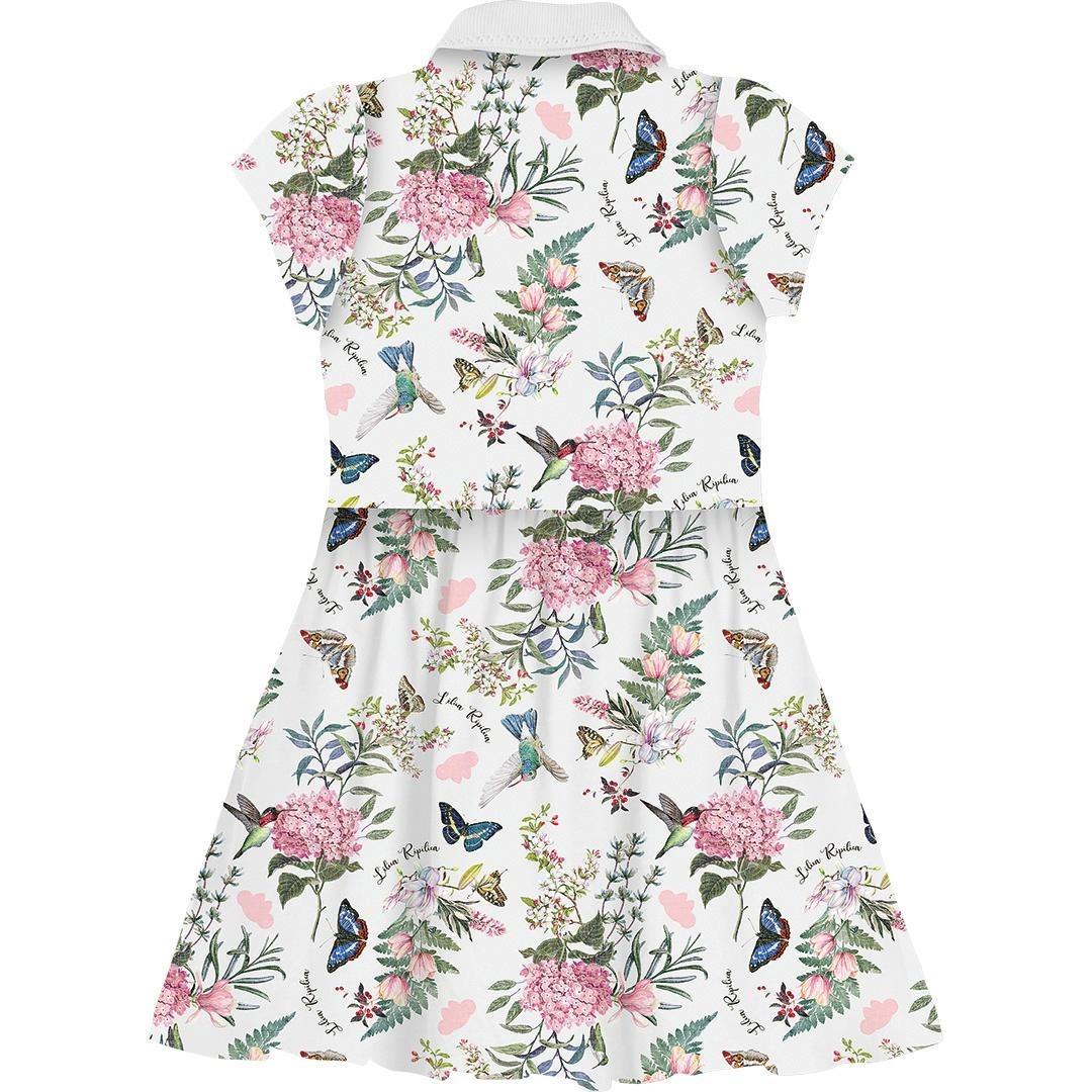 20c21ed8f Vestido Lilica Ripilica Floral Verde - Cor Verde - R$ 129,00 em ...