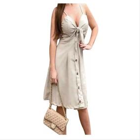 d9ee51d99 Vestido Tecido Linho - Vestidos Femininas no Mercado Livre Brasil