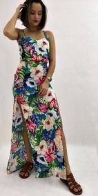 6e311bcfd7 Vestido Com Estampa De Passaros - Vestidos no Mercado Livre Brasil