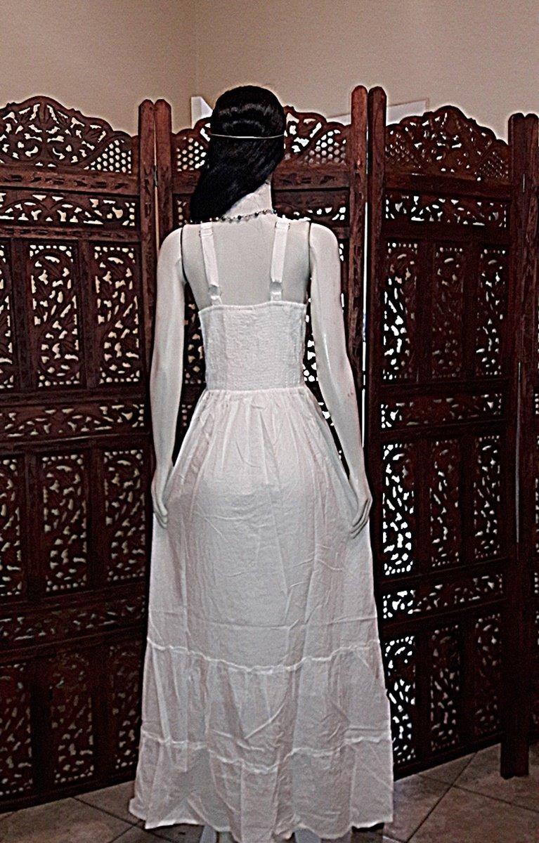 2733a54cdebb vestido longo branco tecido algodão laise renda grupir festa. Carregando  zoom.