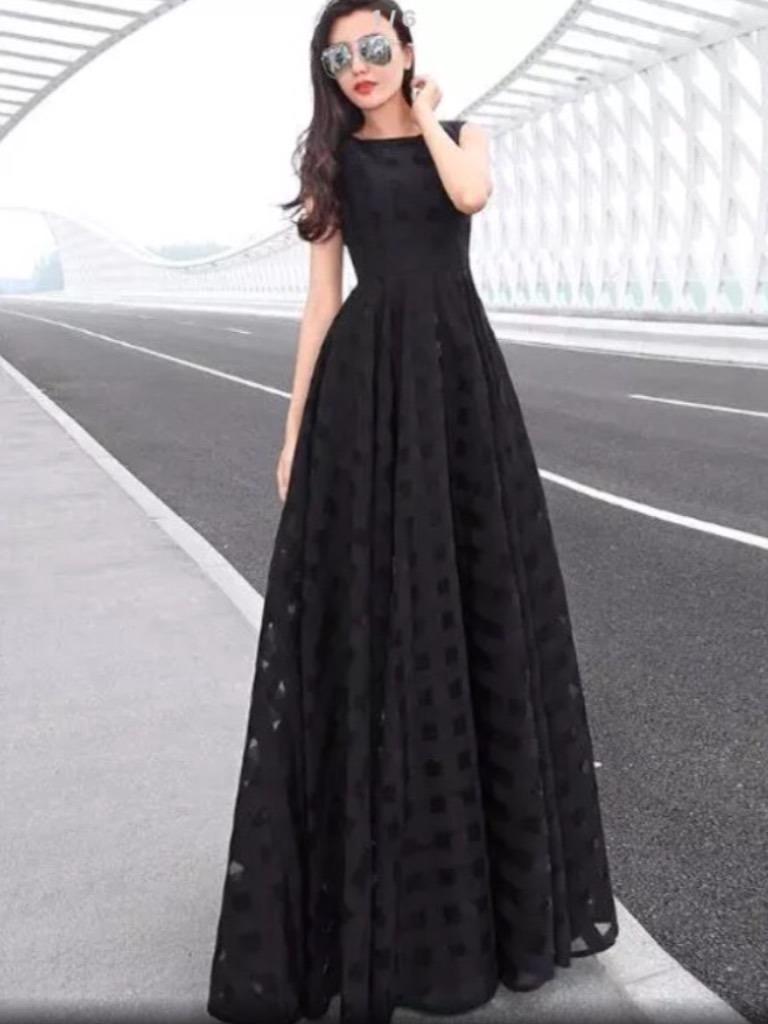 2b199e162 vestido longo casamento civil madrinha formatura barato. Carregando zoom.
