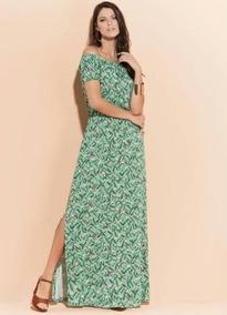 2ea13b98c7 Vestido Social Longo - Vestidos Femininas Verde no Mercado Livre Brasil
