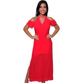 b4fa5eea5968 Vestidos Longo em Manaus com o Melhores Preços no Mercado Livre Brasil