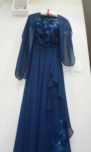 vestido longo de festa