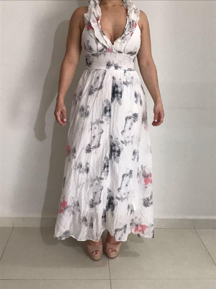 488a5c560 Vestido Longo De Festa Marca Disritmia - R$ 180,00 em Mercado Livre