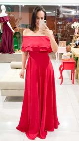 Vestido Madrinha Vermelho Aluguel Vestidos Femeninos De
