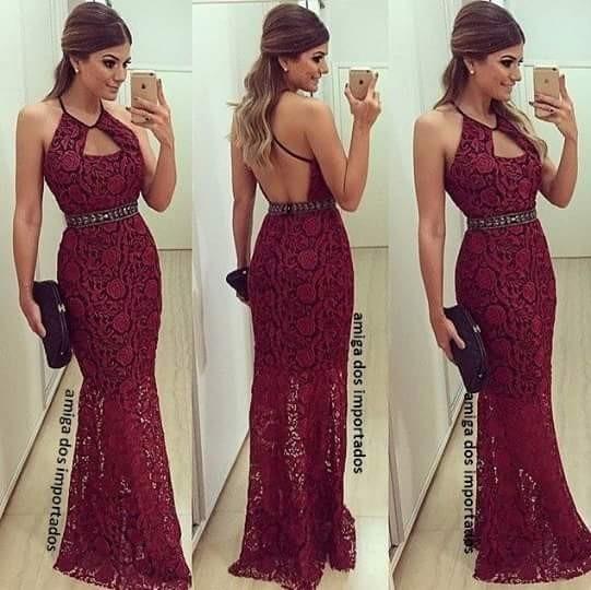 Imagens de vestidos com renda nas costas
