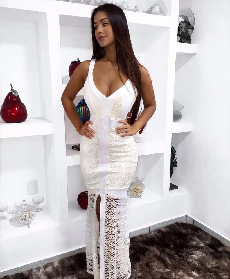 Vestidos de festa longo de renda 2018