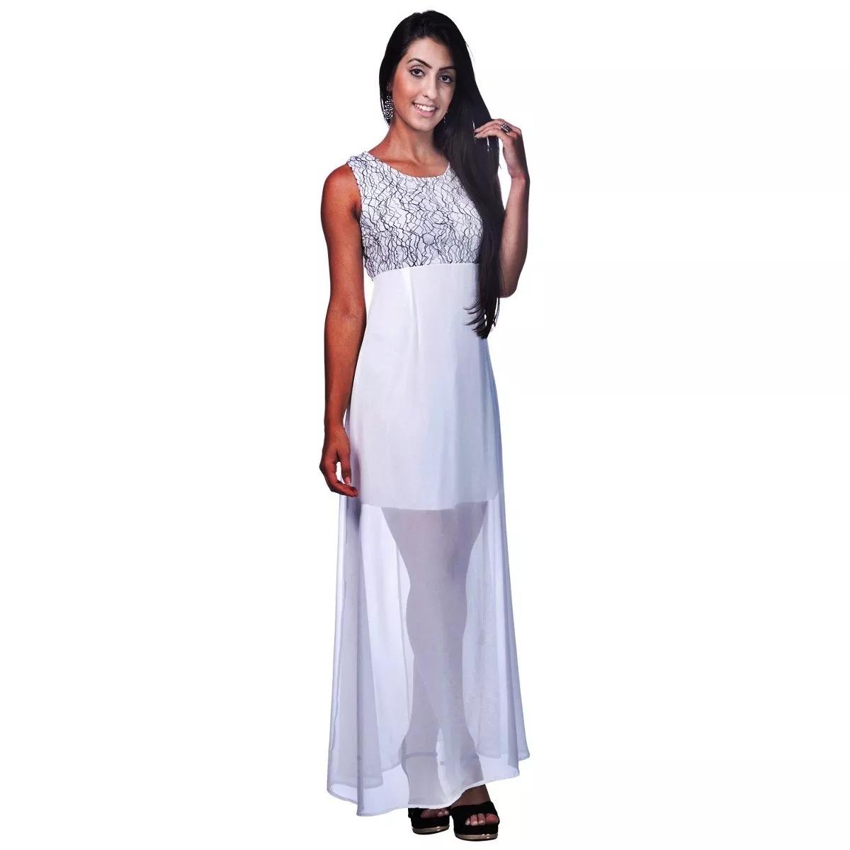 b73f01b5c2 vestido longo de renda festa casamento noivado madrinha 2721. Carregando  zoom.