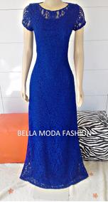 b0b7804a4330 Vestido Azul Agua - Vestidos Femeninos com o Melhores Preços no Mercado  Livre Brasil