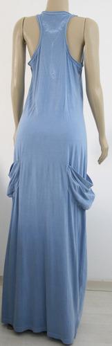 vestido longo equatore