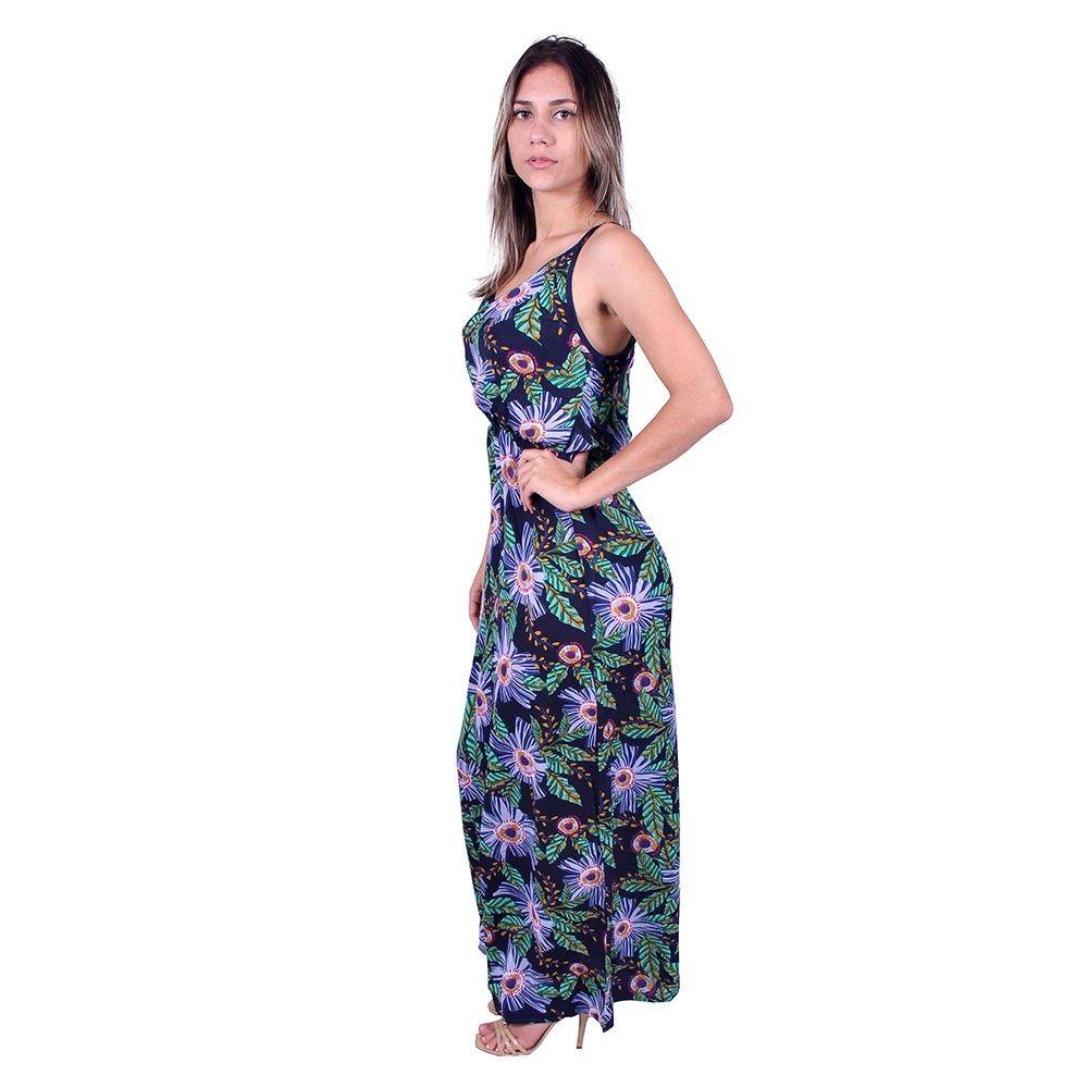 dc024315bff1 vestido longo estampado ellabelle u-1076 - asya fashion. Carregando zoom.