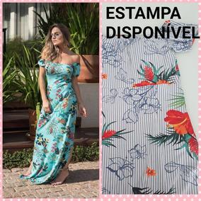 bb84b126d Vestidos Longos Pra Casamento De Dia Tamanho M - Vestidos Casuais Longos M  Femininas no Mercado Livre Brasil