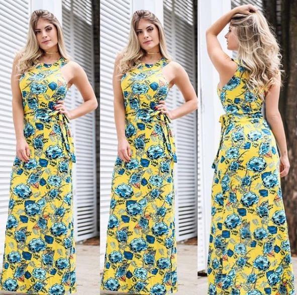f000ea1e72 Pretty floral dress Estilo Moda Moda e estilo e Roupa de vero