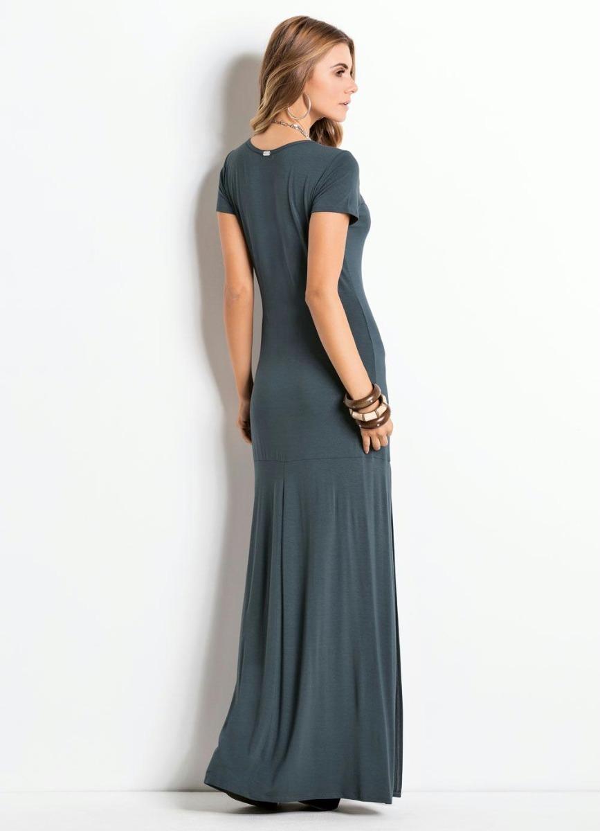 f3e9462bbf65 vestido longo evangélico feminino fendas social plus size. Carregando zoom.