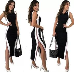 aa45acb53 Vestido Longo Casual - Vestidos Longos Femininas em São Paulo no Mercado  Livre Brasil