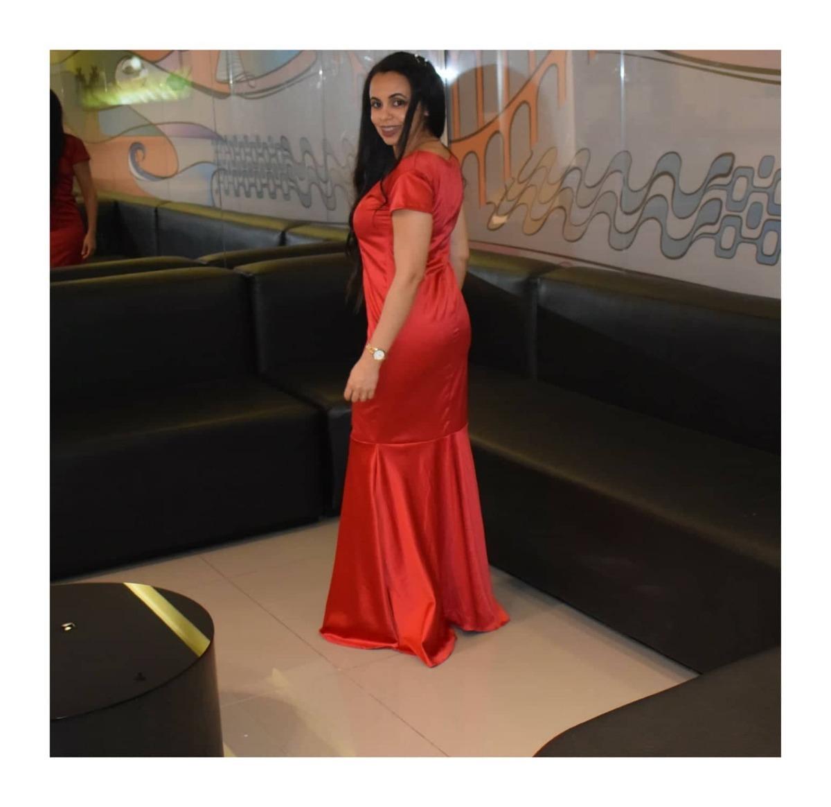 2d3de0174 Vestido Longo Feminino Moda Evangelica Sereia - R$ 160,00 em Mercado ...