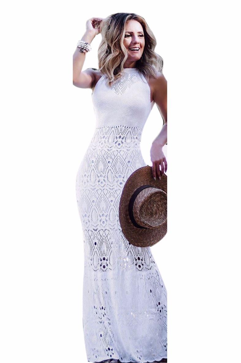 bcd0c95b7 vestido longo feminino tricot tricô sereia moda blogueiras. Carregando zoom.