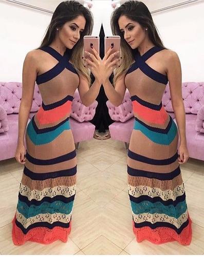 vestido longo femininos