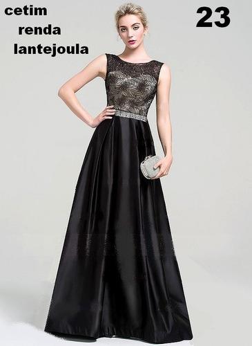 vestido longo -festa