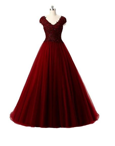 404941673 Vestido Longo Festa Debutante 15 Anos Formatura Baile Import - R ...