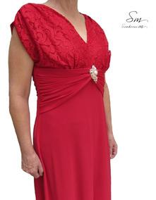 72989c8ea Vestido Formatura Senhora - Vestidos Femeninos com o Melhores Preços no  Mercado Livre Brasil