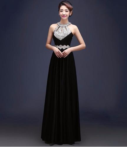 vestido longo festa formatura casament madrinha importado 75