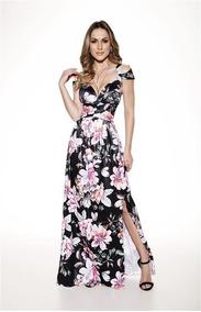 eade3cde4 Vestido Longo Em Jersey Com Elastano - Vestidos Femeninos Rosa-claro ...