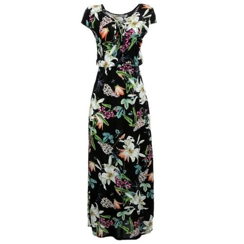 0b9b29dc4 Vestido Longo Floral Tendência Verão 2019 - R$ 55,00 em Mercado Livre
