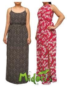 ee0c1d84f5 Vestido Chiffon Longo Floral - Vestidos Femininas no Mercado Livre ...