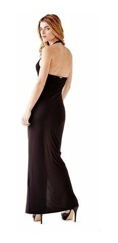 vestido longo guess