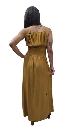 vestido longo indiano stone alça bordado