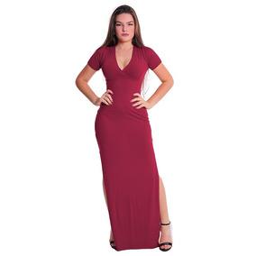 b2004fd26 Vestido Aberto Lateral - Vestidos Femeninos com o Melhores Preços no ...