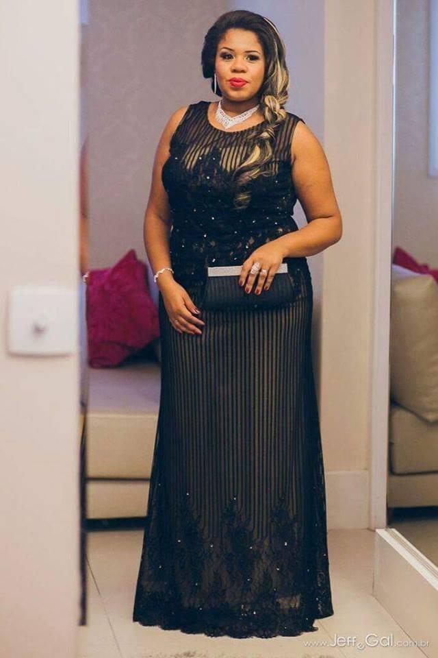 Bolsa Madrinha : Vestido preto longo madrinha casamento bolsa brinde