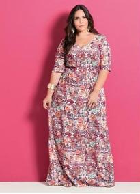 eb7b4e866 Vestido Para Gordinhas Moda Evangelica - Calçados, Roupas e Bolsas com o  Melhores Preços no Mercado Livre Brasil
