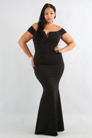 63c0f187d Vestido Longo Sereia Liso Tamanho Xxg - Vestidos Longos XXG Femininas no Mercado  Livre Brasil