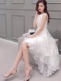 86ee459f4 Vestido Sereia Casamento Civil - Vestidos Femininas no Mercado Livre Brasil
