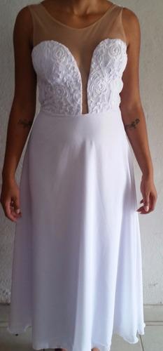 vestido longo, noiva, festa, casamento, de 249,00 por 149,00