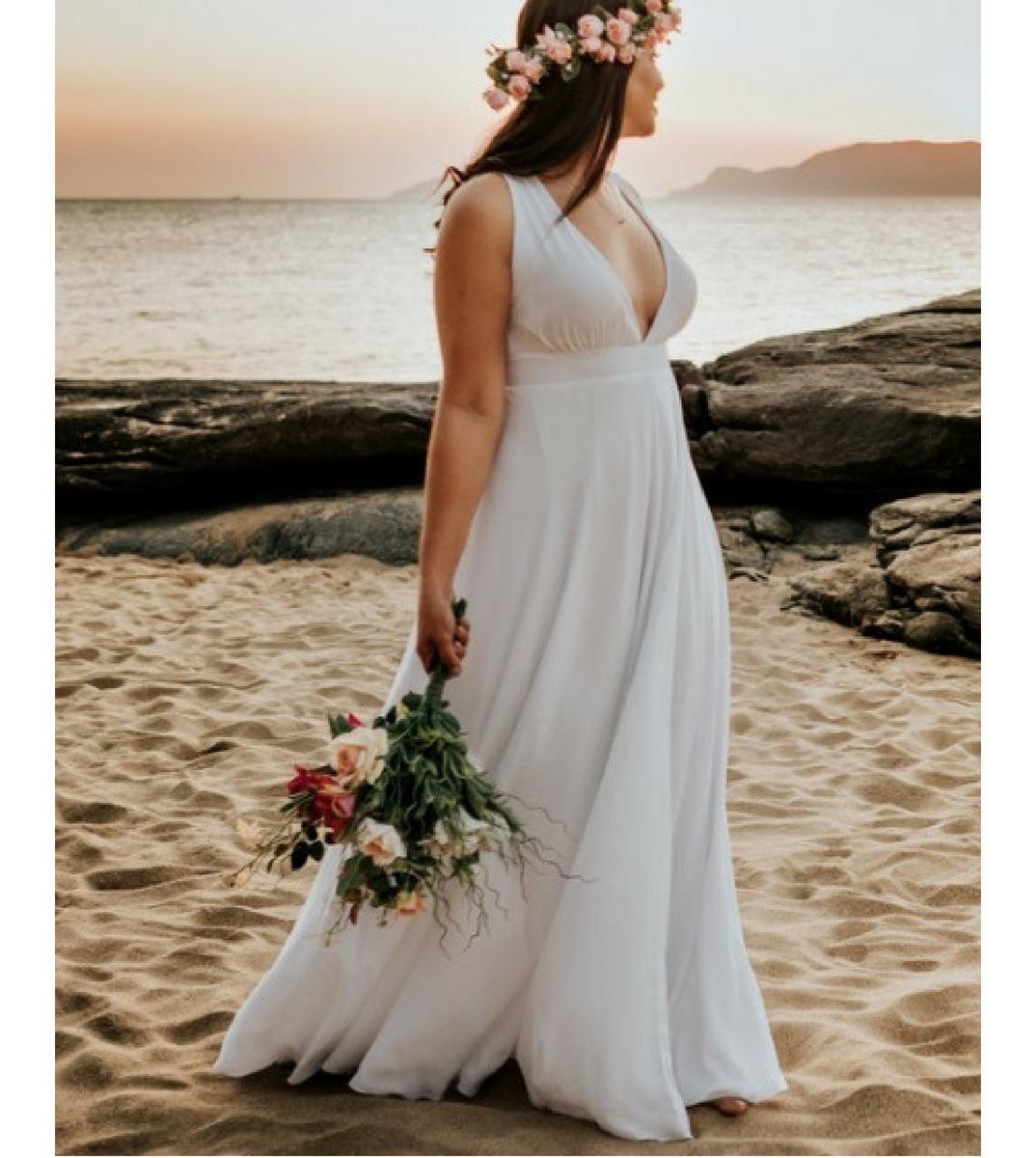 Vestido Longo Noiva Pre Wedding Pre Casamento Cforro
