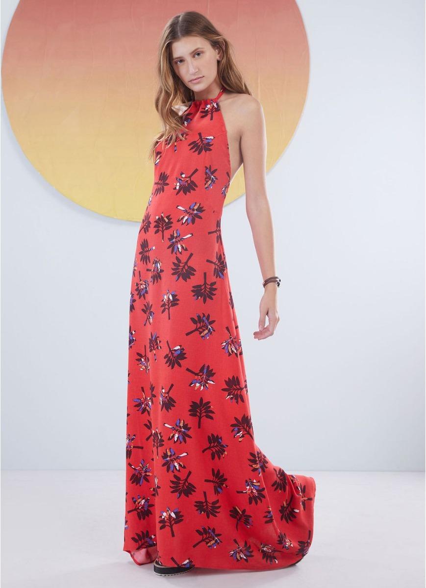 c370e34489 vestido longo redley cantão floral tam g com tag. Carregando zoom.