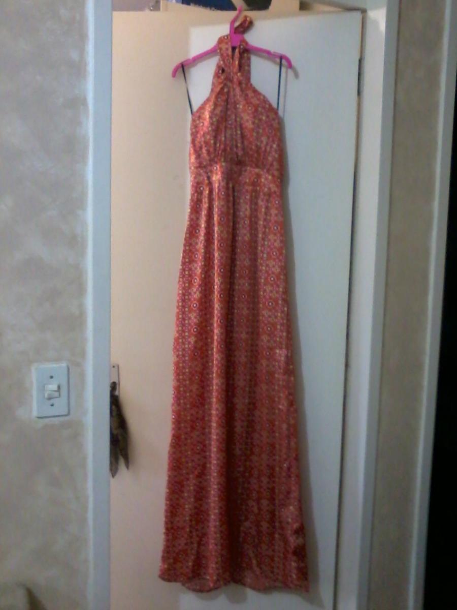 19d89a42ab vestido longo - renner - tamanho 36. Carregando zoom.