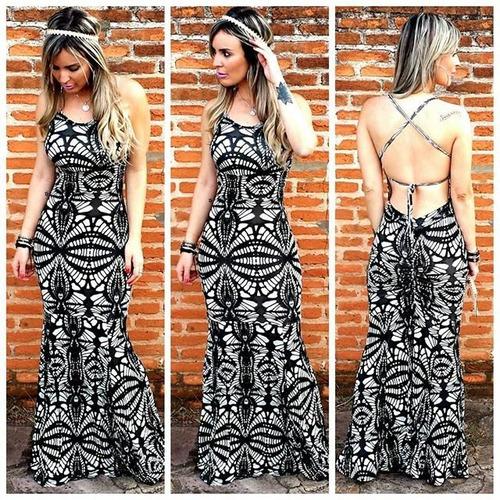 vestido longo sereia