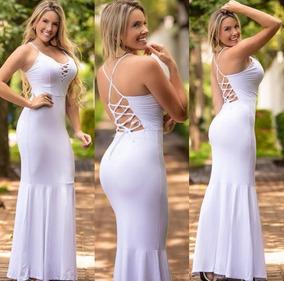 0fafae6a70 Vestido Longo Sereia Réveillon 2018 Roupas Femininas